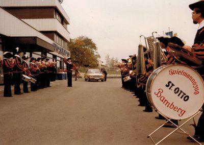 Autohaus Scholz Herzogenaurach Einweihung 1982